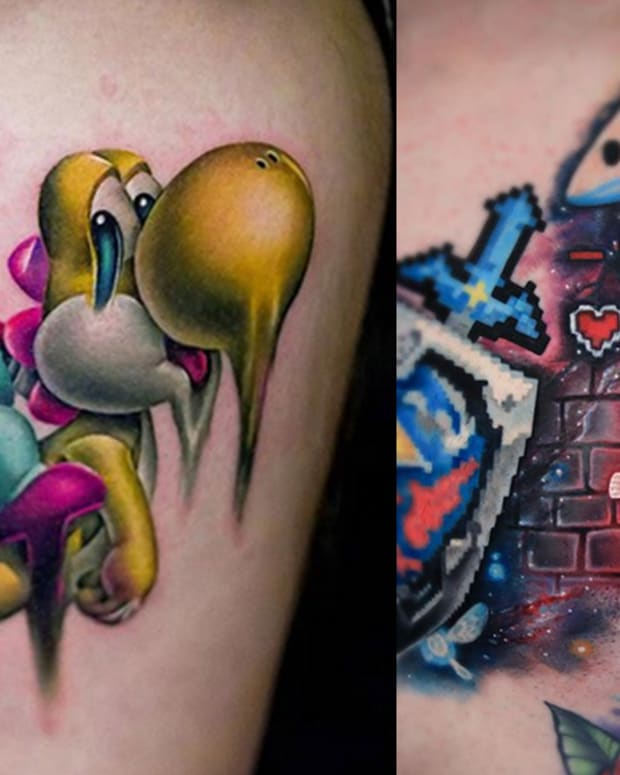 video game tattoos fb