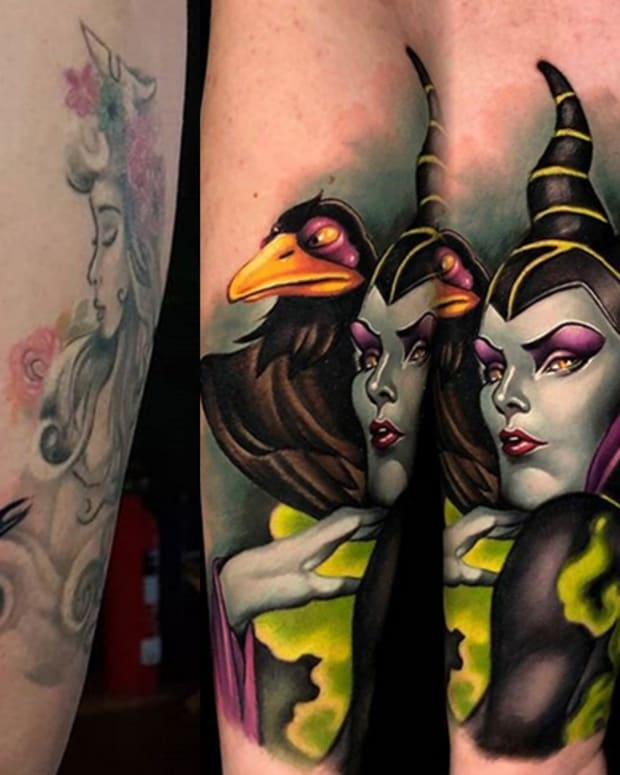 maleficent tattoo fb