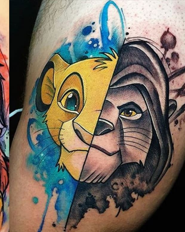 lion king tattoos fb