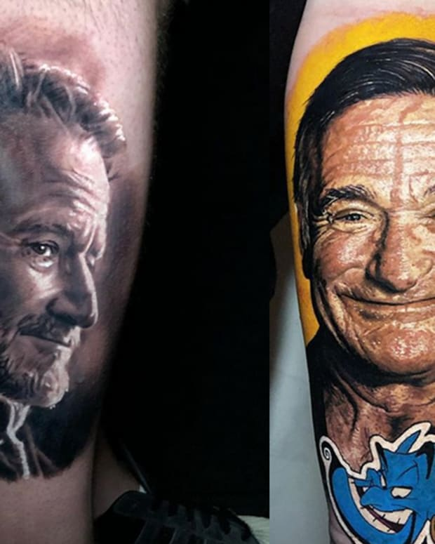 robin williams tattoo fb