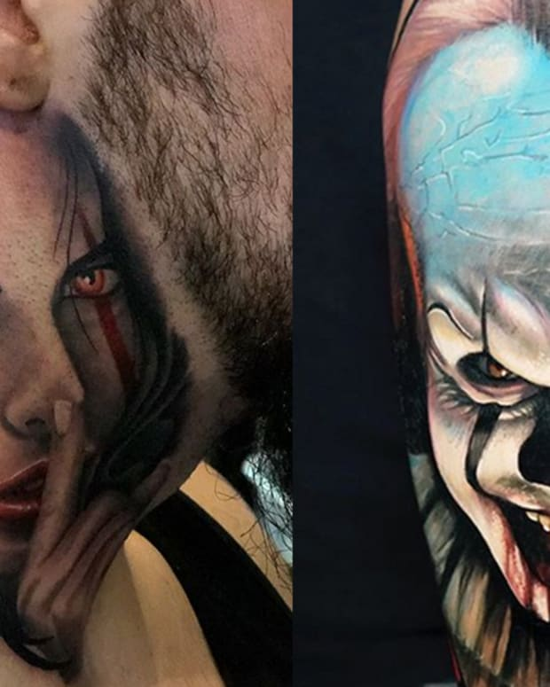 pennywise tattoos fb