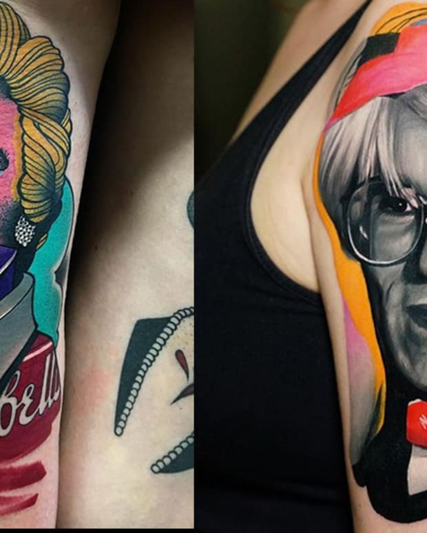 warhol tattoos fb