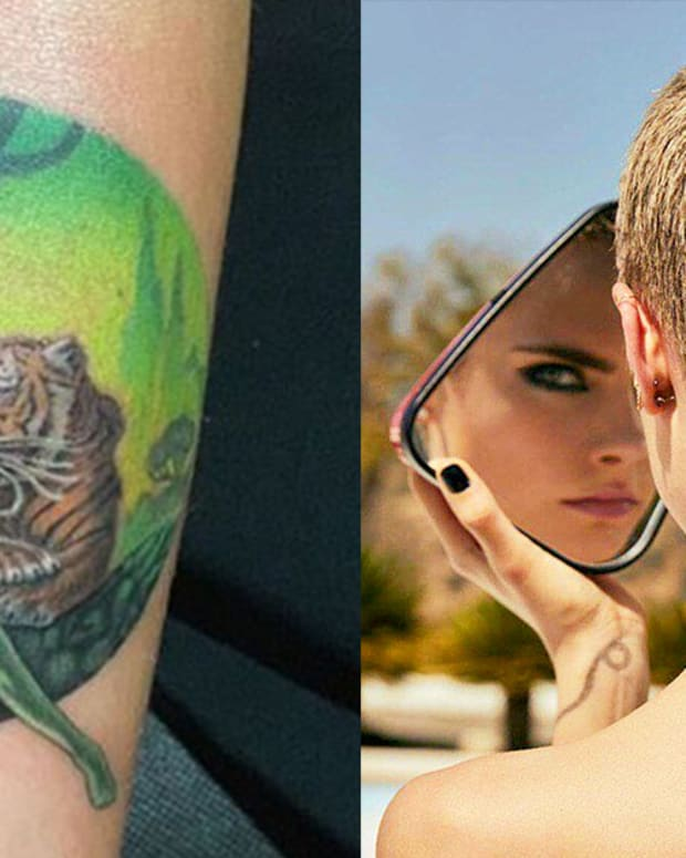 cara delevingne tattoo fb