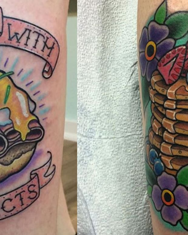breakfast tattoos fb