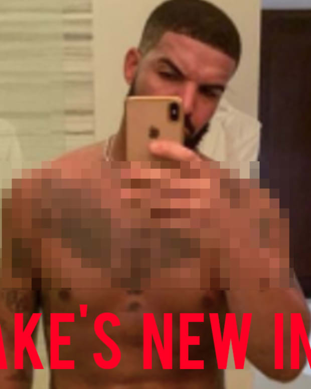 drake chest tattoo fb