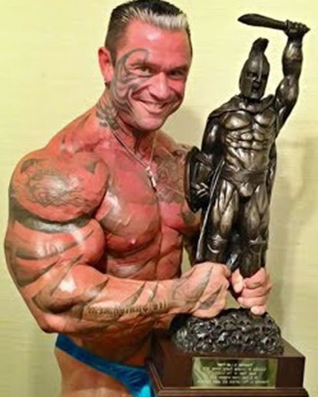 Lee priest, lee priest tattoos, lee priest face tattoo, lee priest removes face tattoo, Mike tyson, tattooed athletes, tattooed body builder, mr universe, mr australia, face tattoos, tribal tattoo ideas, MuscleSport Magazine, tattoo removal, tattoo laser before and after, INKED