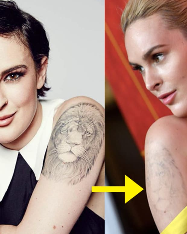 Rumer Willis, Rumer Willis tattoos, Bruce Willis, Demi Moore, Valentin Chmerkovskiy, rumer willis remove tattoos, laser removal, tattoo ideas, celebrities with tattoos, celebrities removing their tattoos