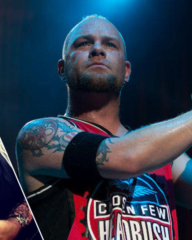 Five Finger Death Punch, Ivan Moody, Ivan Moody face tattoo, ivan moody one year sober, Rick Walters, Rick Walters Signature Series Red Ink, Five Finger Death Punch Ivan Moody, 5FDP, Chris Kael, Rick Trip, Trip Ink Tattoo Company, Ivan Moody instagram, INKED