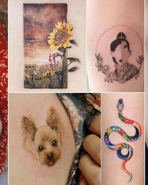 instagram tattoo artists to follow, Korean tattoo artists, tattoo artists in Korea, Seoul Korea, Woojin Choi, oozy, 25 Reasons To Go to Korea for a Tattoo, banul tattoo artist, Zi O tattoo artist, Zihee tattoo artist, Ziwha tattoo artist, Hong Dam tattoo artist, floral tattoos, Chaehwa tattoo artist, INKED