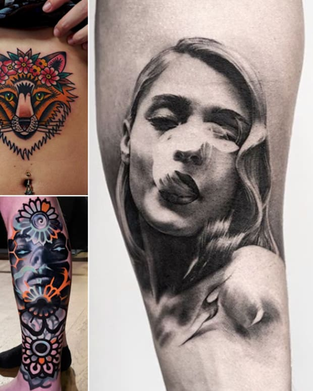 instagram tattoo artists to follow, Swedish tattoo artists, best tattoo artists in Sweden, Sweden Tattoo Artists, pulled poltergeist tattoo artist, oscar akermo tattoo artist, Anastasia Vilks tattoo artist, Peter Lagergren tattoo artist, Daria Shishkina tattoo artist, Michael stade tattoo artist, Electric Martina tattoo artist, Ville Prinsen, 25 Reasons To Go to Sweden for a Tattoo, black and grey portrait, color realism, floral tattoos, neotraditional tattoos, cartoon tattoos, Japanese tattoos, INKED