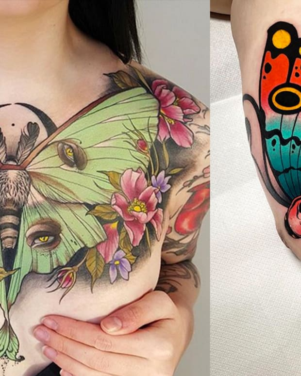 moth tattoos fb