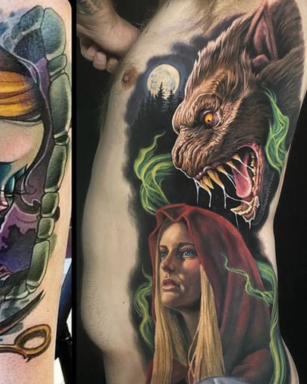fairy tale tattoos fb