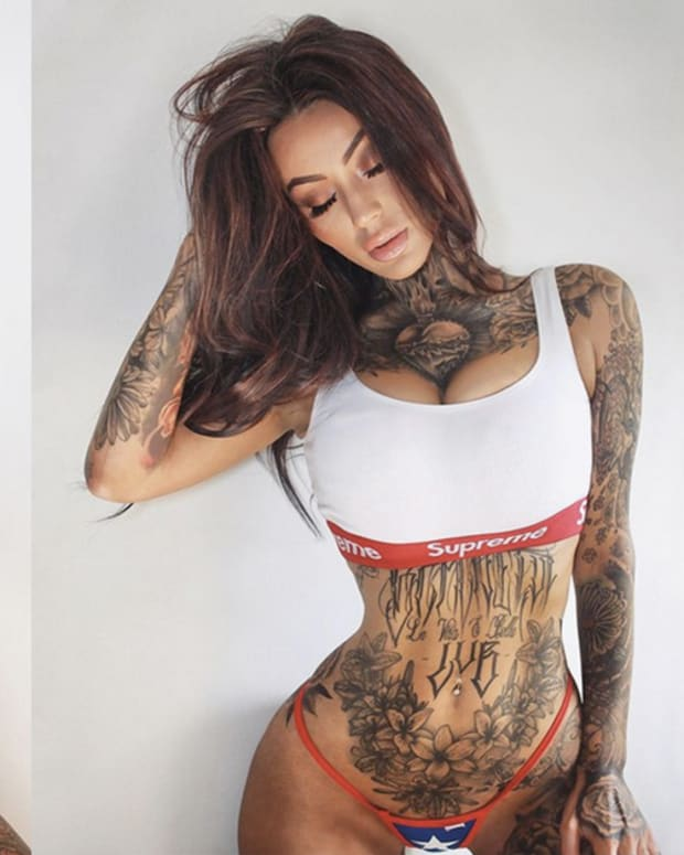 inked girl of the week lilli grace