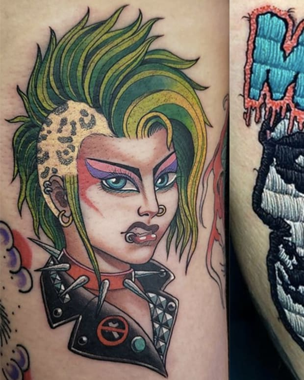 punk rock tattoos fb
