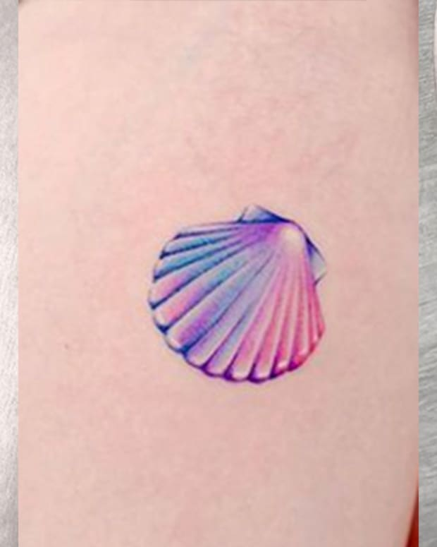 sea shell tats
