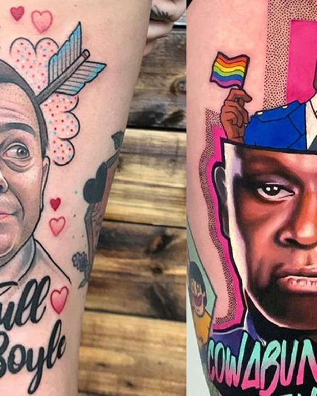 brooklyn 99 tattoos fb