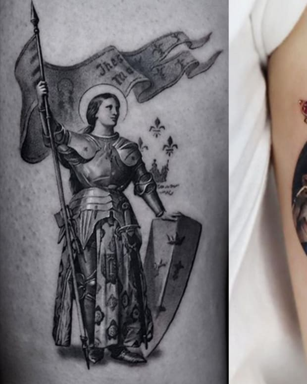 saint tattoos
