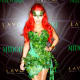 We're green with envy over Kim K's Poison Ivy ensemble.
