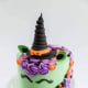 What's not to love about a unicorn witch cake?