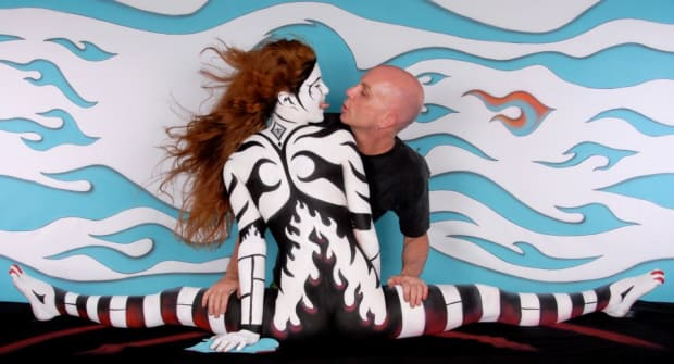 Fine Art Body Painting By Craig Tracy Tattoo Ideas Artists And Models