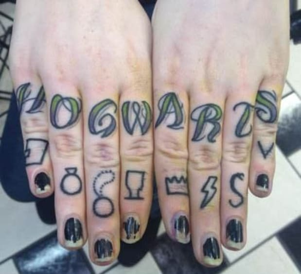 Knuckle Tattoos That Will Crack You Up Tattoo Ideas Artists And