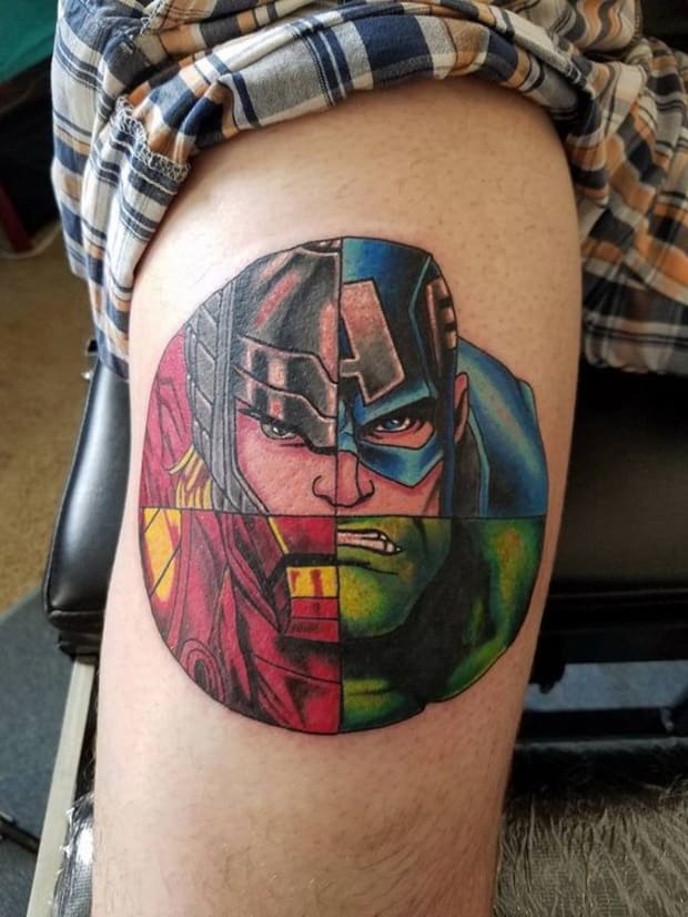 80+ Animated Characters: Comic and Cartoon Tattoos - Tattoo