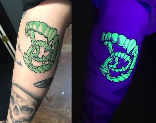 All You Need To Know About Black Light Tattoos According To Tattoo Artists Tattoo Ideas Artists And Models