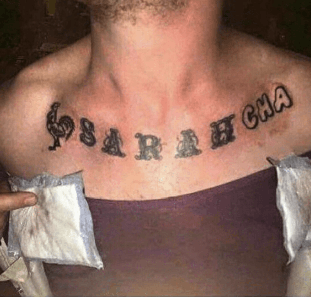 When Name Tattoos Go Wrong - Tattoo Ideas, Artists and Models