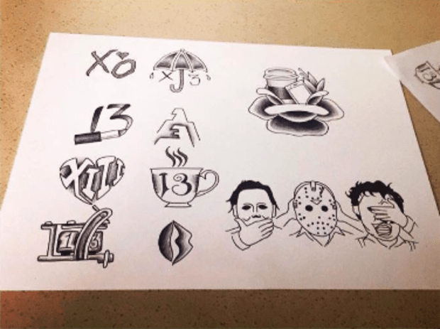 13 Cool Flash Sheets Inspired By Friday The 13th Tattoo Ideas Artists And Models