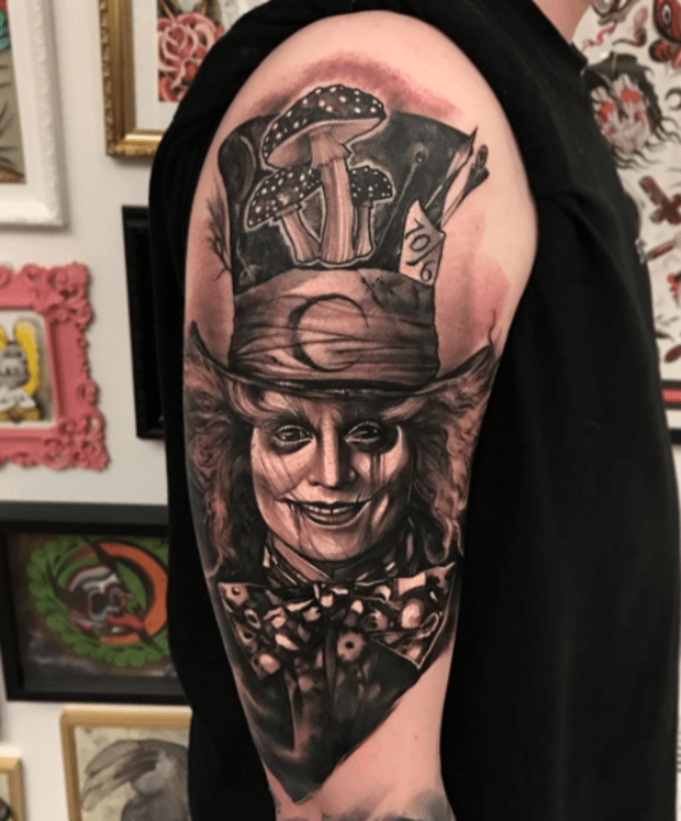 Alice In Wonderland Inspired Tattoos Tattoo Ideas Artists And Models