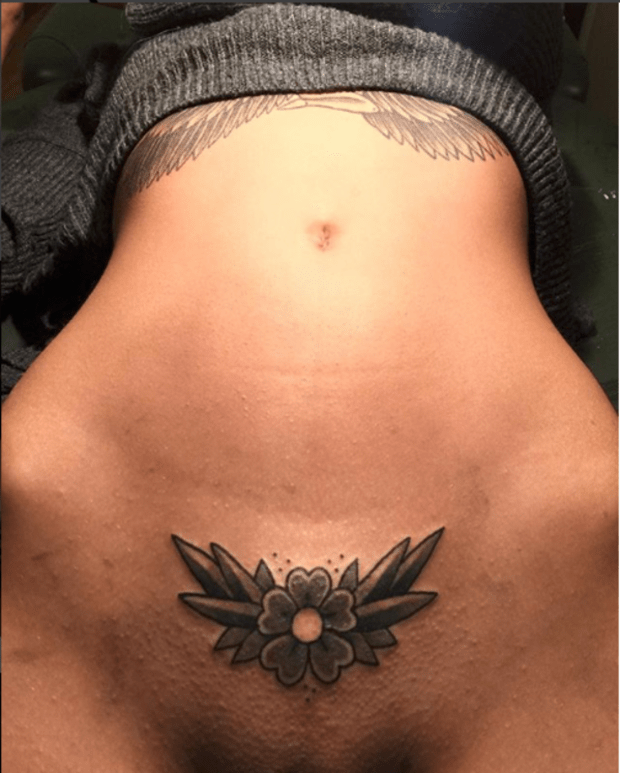 Private tattoos parts near Where to