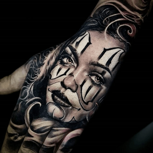 Clown Girl Tattoo Meaning: How Payasas Have Become A Cultural Symbol For LA's Chicano