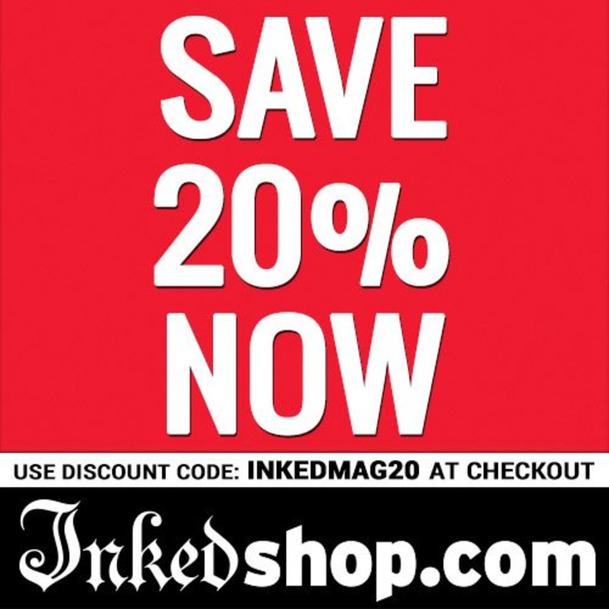 Inked Shop Discount