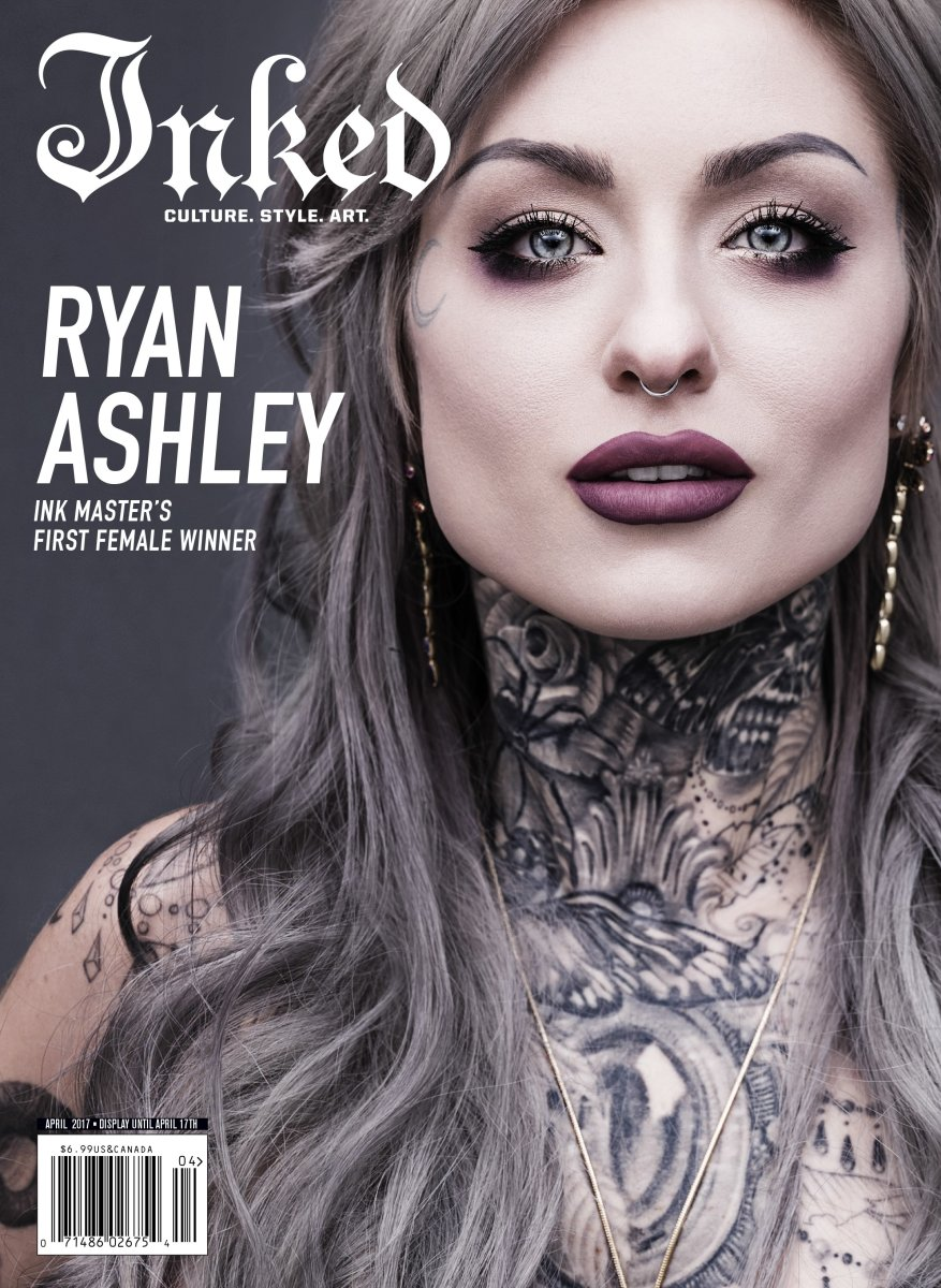 Ryan Ashley Inked Magazine Cover