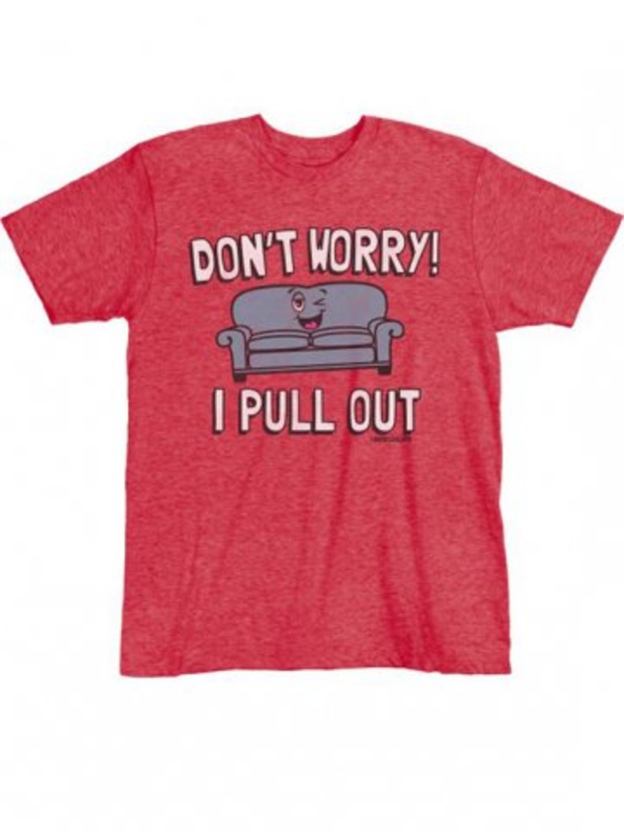 "Available at INKEDSHOP.COM: Men's ""My Couch"" Tee by David & Goliath"