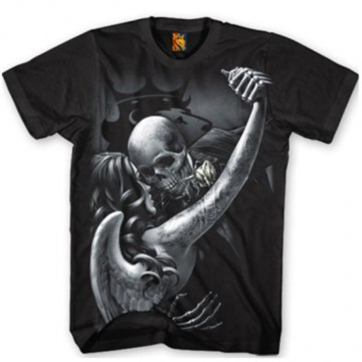"""Available at INKEDSHOP.COM: Men's """"Tango"""" Tee by OG Abel"""