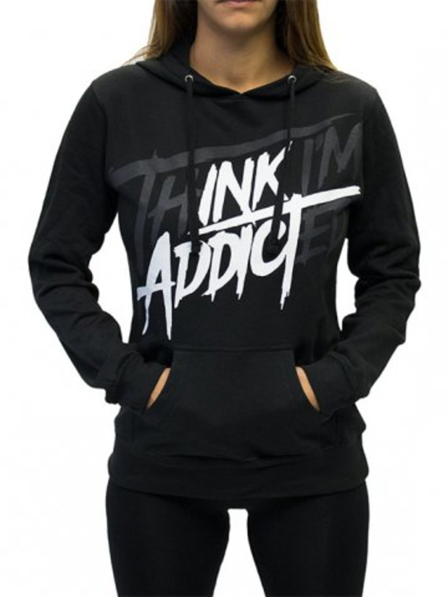 "Available at INKEDSHOP.COM: Women's ""Tia II"" Lightweight Pullover Hoodie by InkAddict"