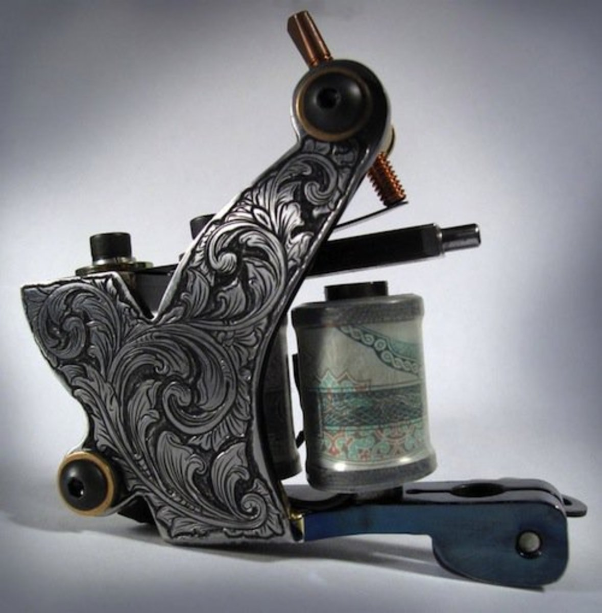 Coil tattoo machine by Tim Hendricks