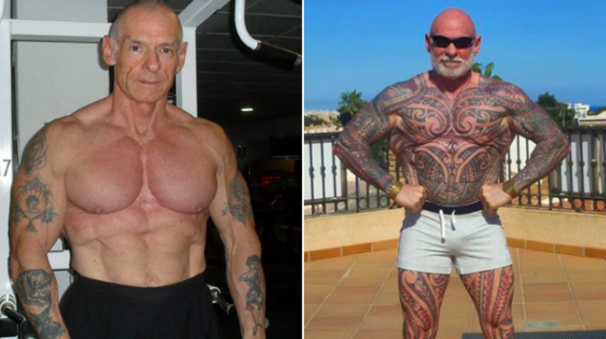 cca6ca953 59 Year-Old Reinvents Himself With Full Body Tattoo - Tattoo Ideas ...