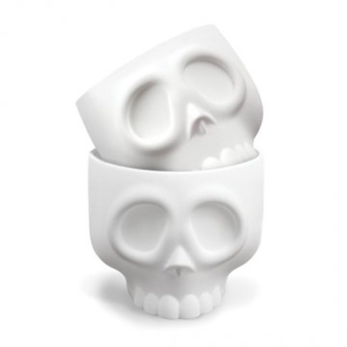 "Available at INKEDSHOP.COM: ""Nomskulls"" Cupcake Molds Pack by Fred & Friends"