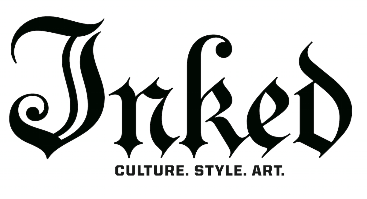 The official logo of Inked magazine, website and all media properties. Culture. Style. Art.