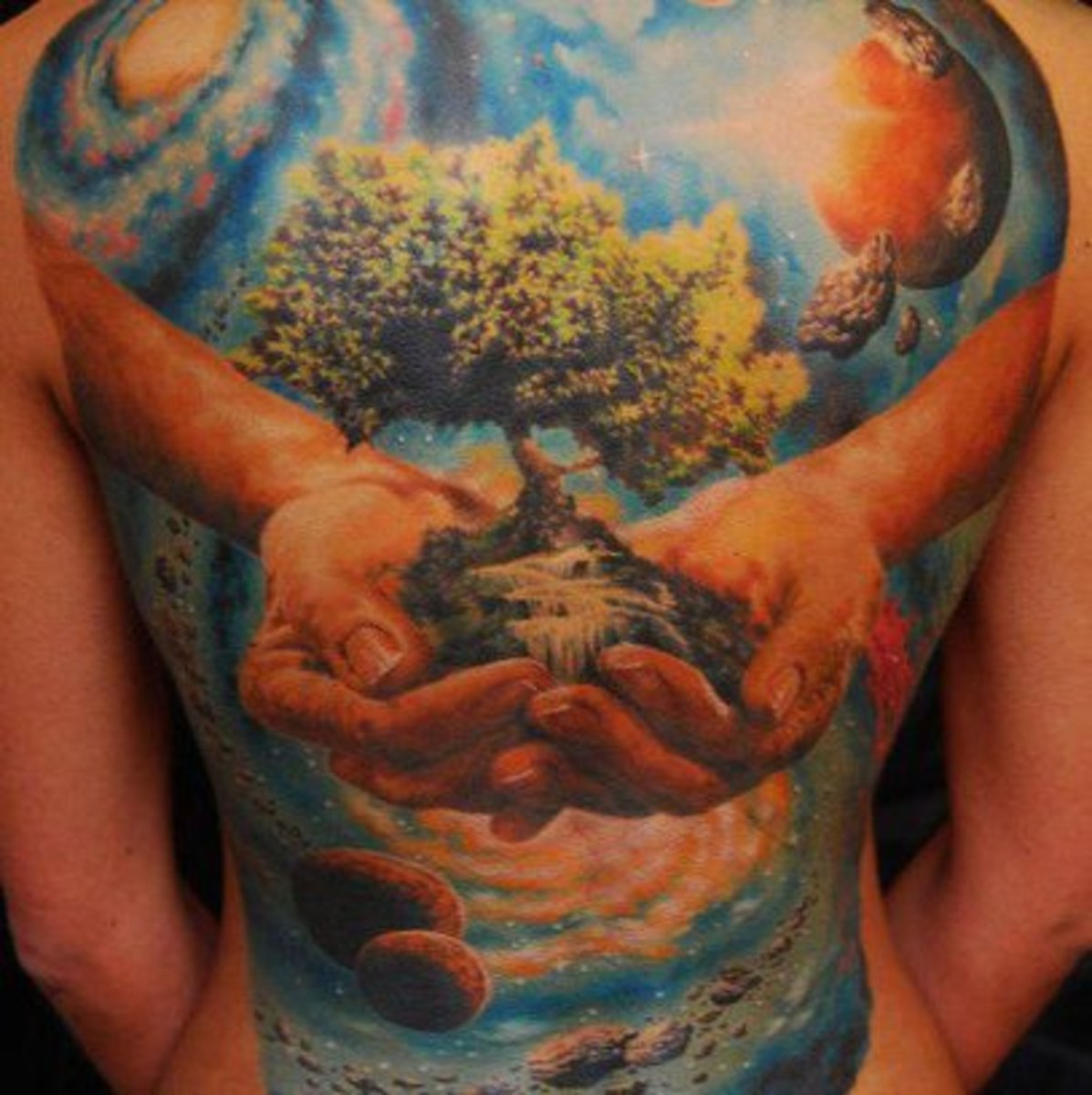 Earth Day Tattoos - Tattoo Ideas, Artists and Models