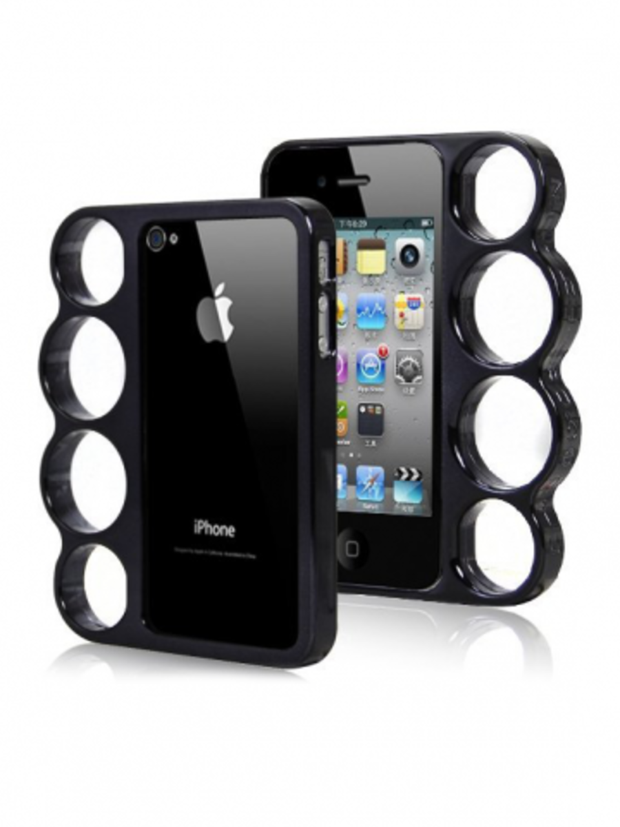 Available at INKEDSHOP.COM: Knuckle Duster iPhone Cases