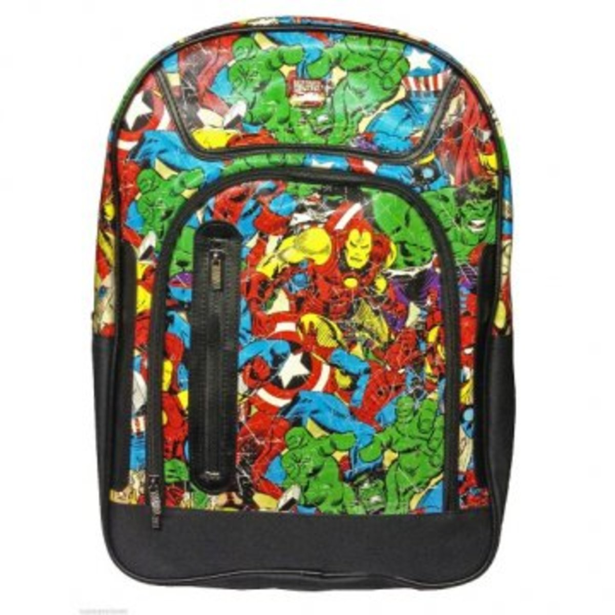 Available at INKEDSHOP.COM: Marvel Comics Multi Character Backpack