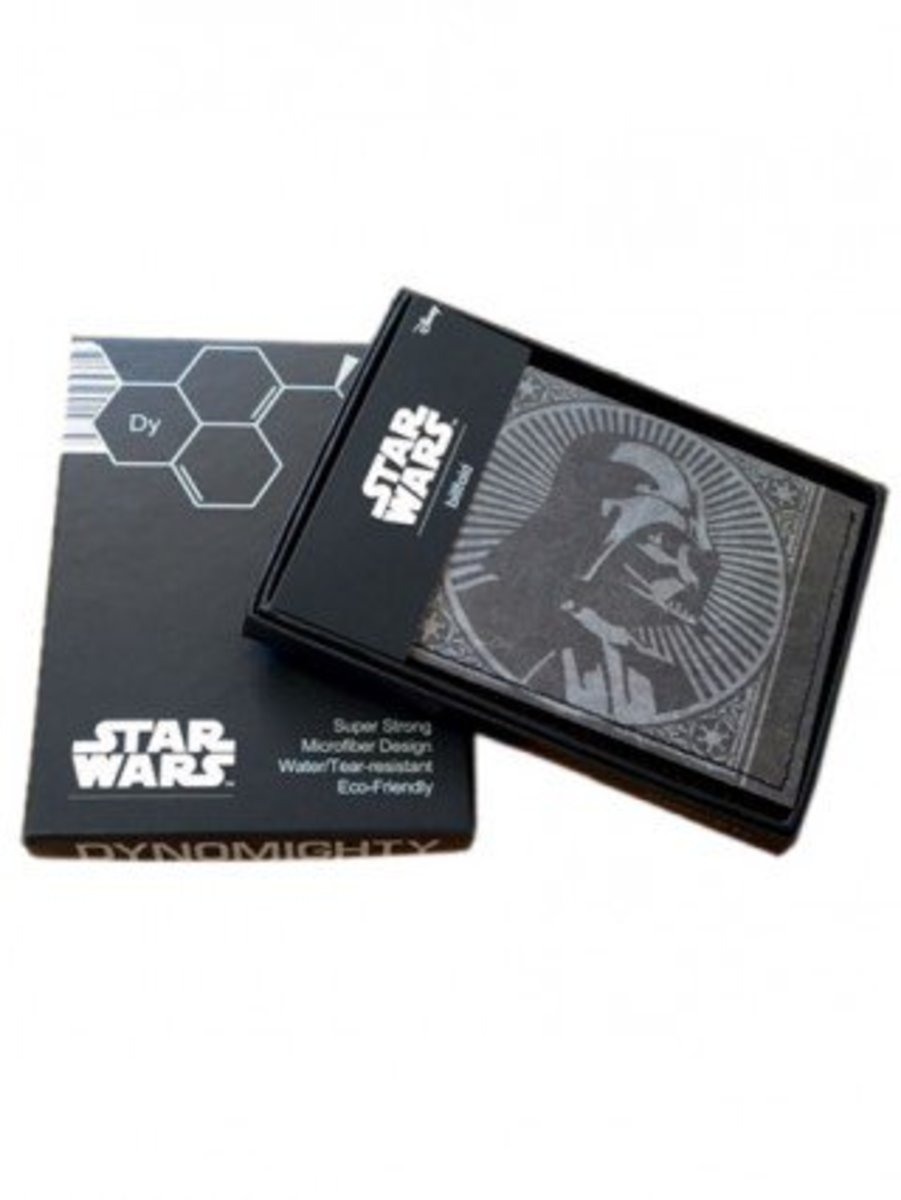 "Available at INKEDSHOP.COM: ""Darth Vader Profile"" Bi-Fold Wallet By Dynomighty"