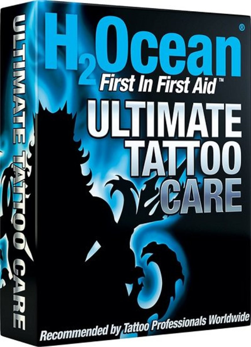 tattoo care kit H20cean