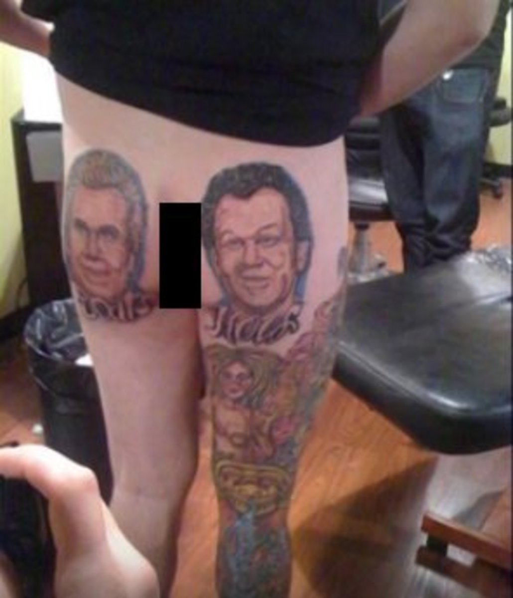 Now that's a tattoo that will spark a conversation.