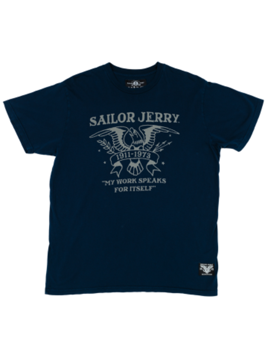 "Available at INKEDSHOP.COM: Men's ""Proud Eagle"" Tee by Sailor Jerry"