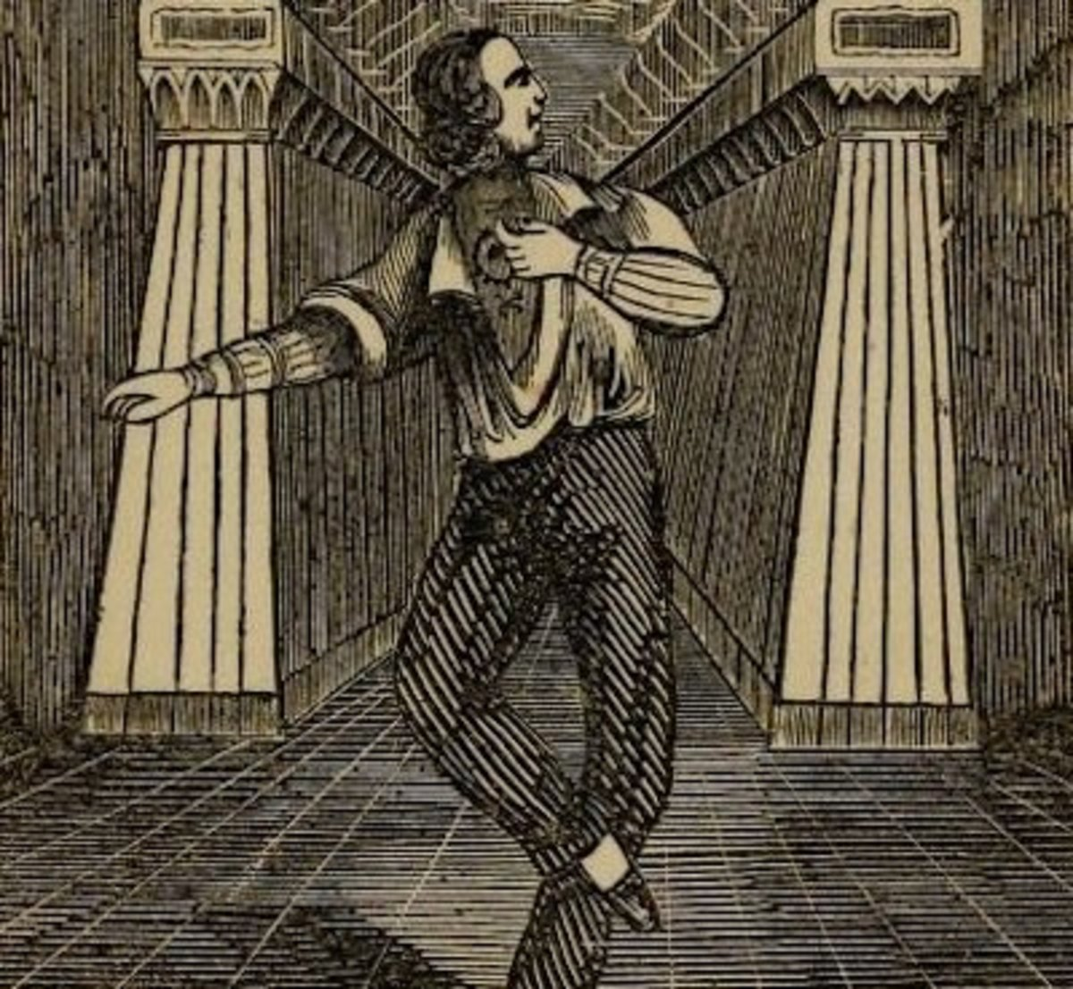 Image from James F. O'Connell's book, photo from Public Domain Review