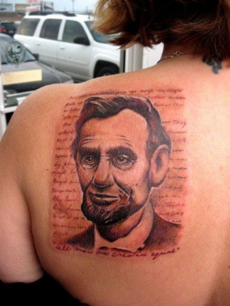 Abraham Lincoln Tattoos Tattoo Ideas Artists And Models